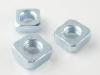 DIN562四方薄螺母-蓝白锌