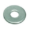 普碳钢 DIN125平垫圈-蓝白锌